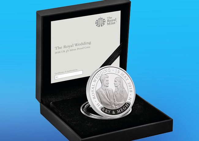 Great Britain 2018 royal wedding coins