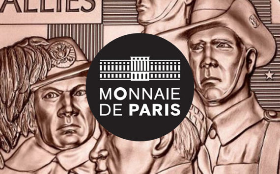 MÉDAILLE des Alliés de la Victoire – programme de la monnaie de Paris 2018