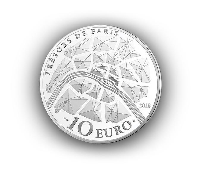Pièces 10€ 50€ Argent Pont Alexandre III Monnaie de Paris 2018