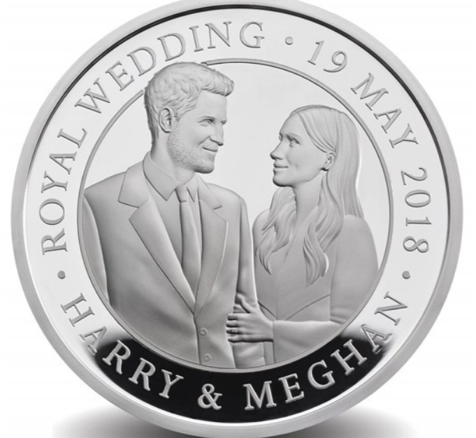 The Royal Wedding 2018 UK £5 Gold Proof Coin