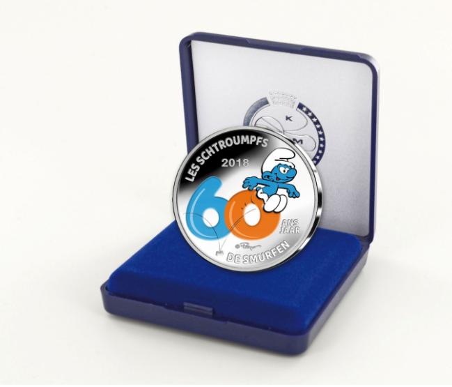 Programme numismatique 2018 de la Belgique
