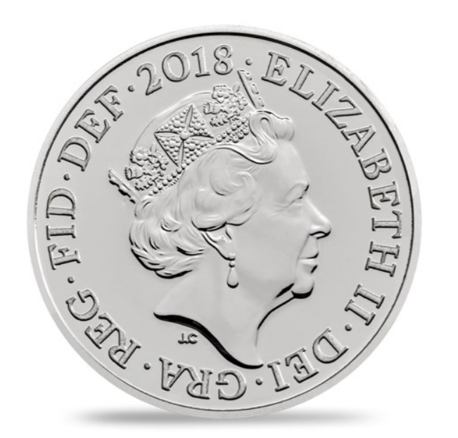 The Royal Birth 2018 UK Silver Penny Brilliant Uncirculated Coin