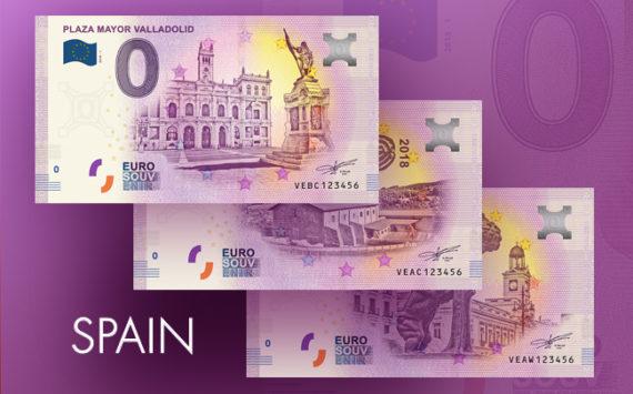 Zero euro banknote Spain 2018