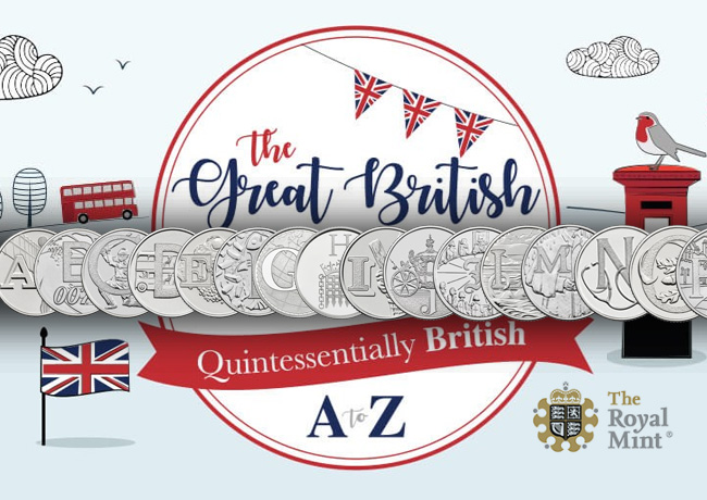 Collection de pièces de 10 pence – La Royal Mint révèle ce qui fait la grandeur de la Grande-Bretagne