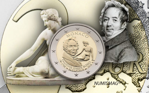 MONACO 2018 €2 commemorative coin JOSEF BOSIO on sale!