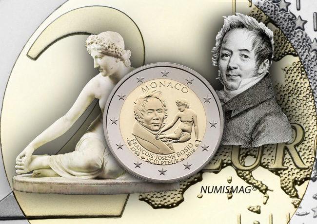 MONACO 2018 €2 commemorative coin JOSEF BOSIO on sale!
