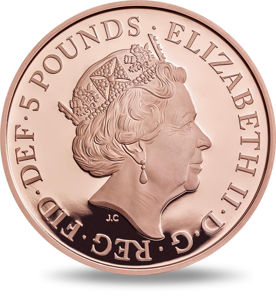 what coin has queen elizabeth on it