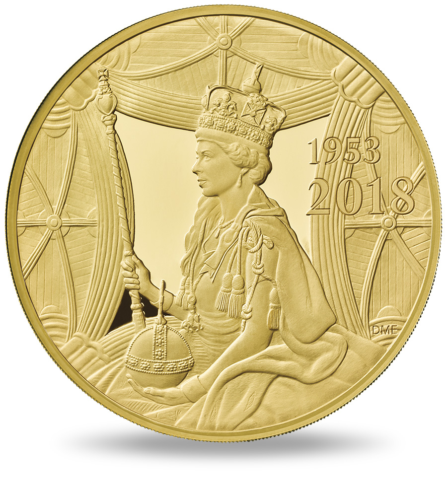 Commemorative coins - 65th Anniversary of the Coronation of Her Royal Highness Queen Elizabeth II Royal Mint