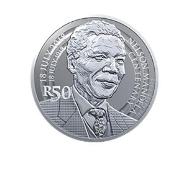 2018 nelson mandela r50 coin