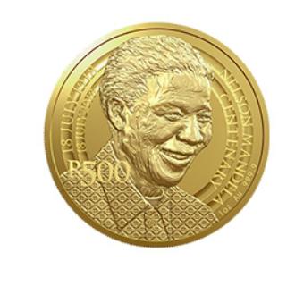 2018 nelson mandela r500 coin