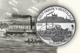 New 2018 €10 slovak commemorative coin dedicated to Steamer CAROLINA