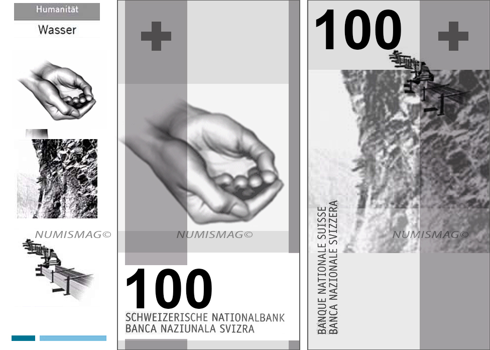 100 francs swiss banknotes 2019