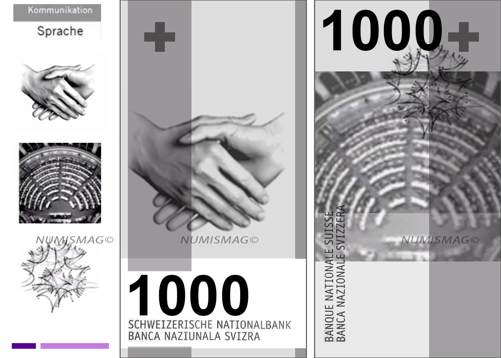 1000 francs swiss banknotes 2019
