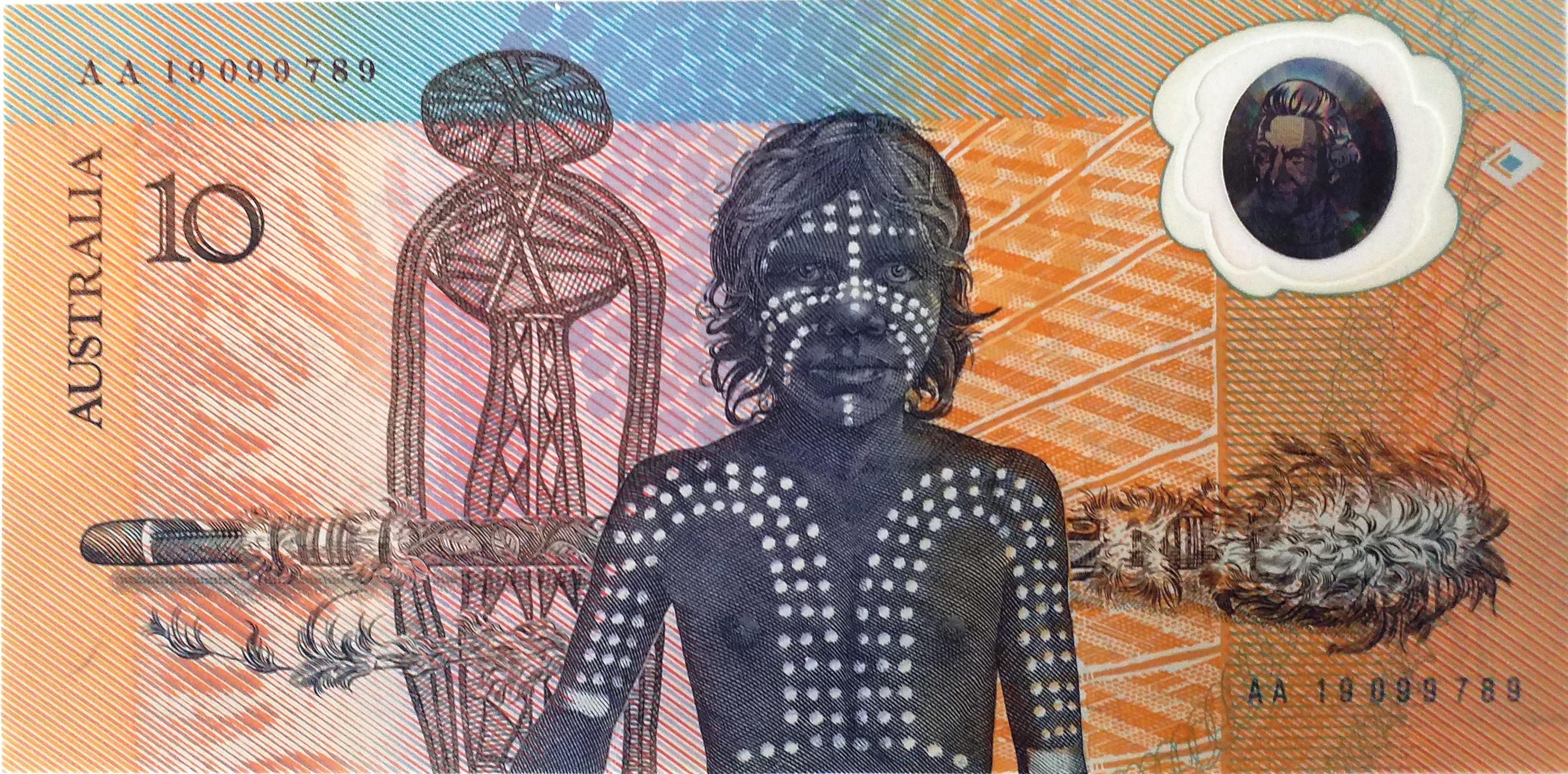 Le premier billet polymère au monde: le 10 dollars australien commémoratif de 1988