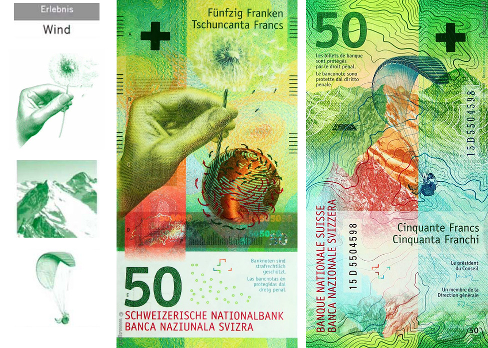 50 francs swiss banknotes 2016