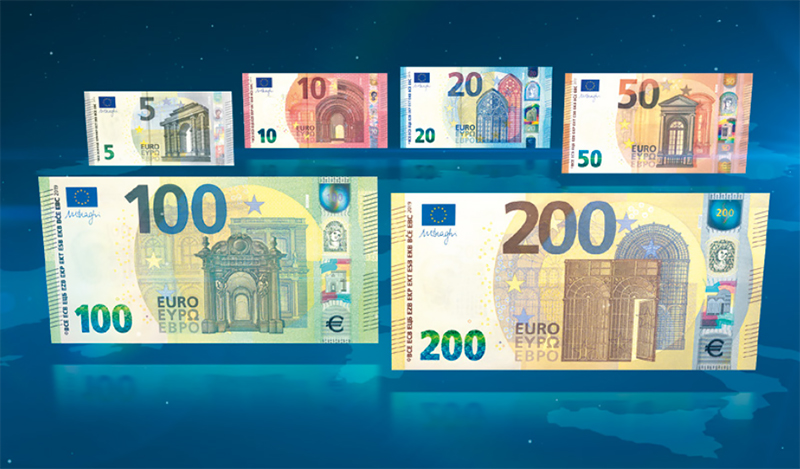Europa Series 100 and 200 Banknotes