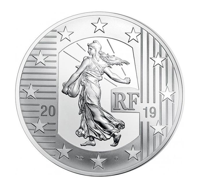 10€ argent Le Franc Germinal et Le 1er Empire monnaie de paris 2019