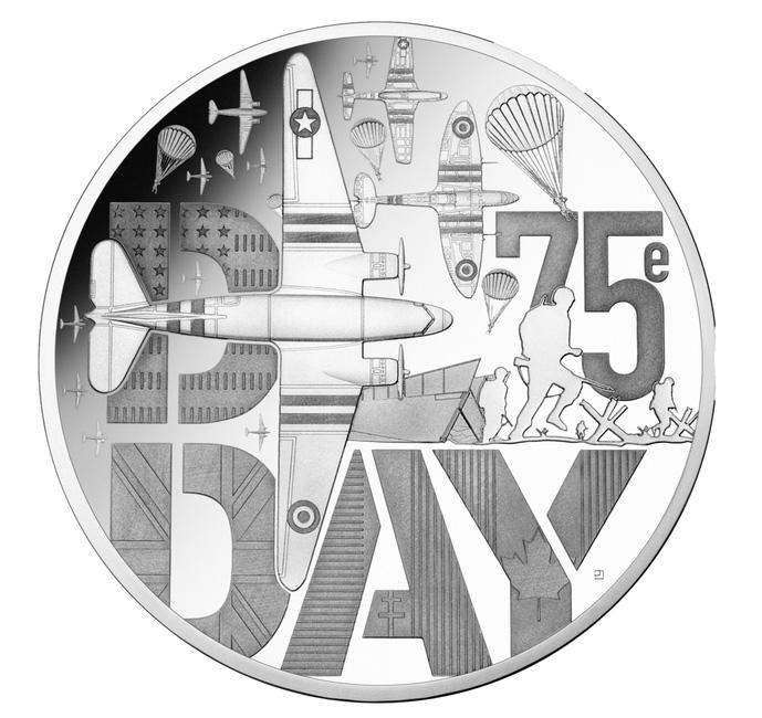 Monnaie 10€ argentBE2019 DDAY