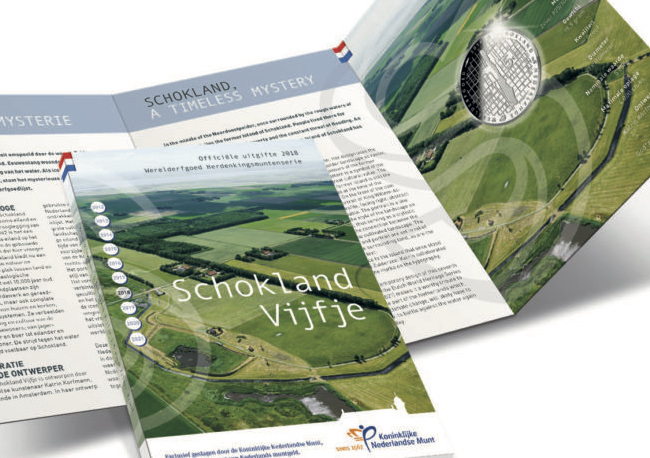 €5 €10 commemorative coin SCHOKLAND 2018 struck by KNM – NETHERLANDS