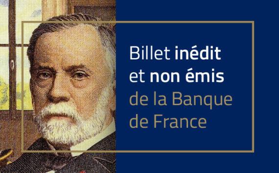 5 francs BDF type 1958  Pasteur – Banque de France – Billet non émis