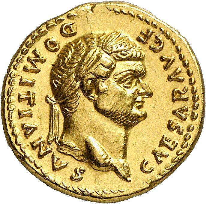 Domitian, 81-96. As Caesar. Aureus, 77/8
