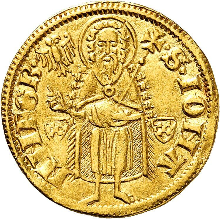 Engelbert of the Mark, 1364-1368. Gold gulden n.d. (1364)