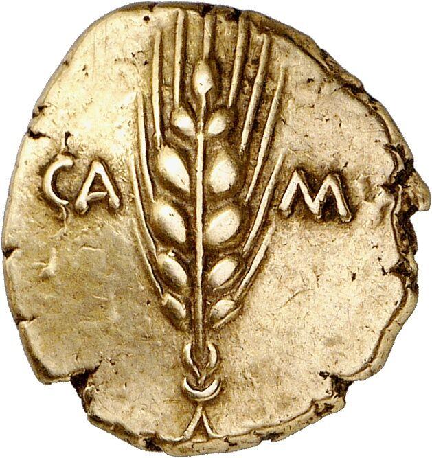 Catuvellauni and Trinovantes (Britain). Cunobeline, 8-41 AD. Gold stater. 20-41. Camulodunum (= Colchester)