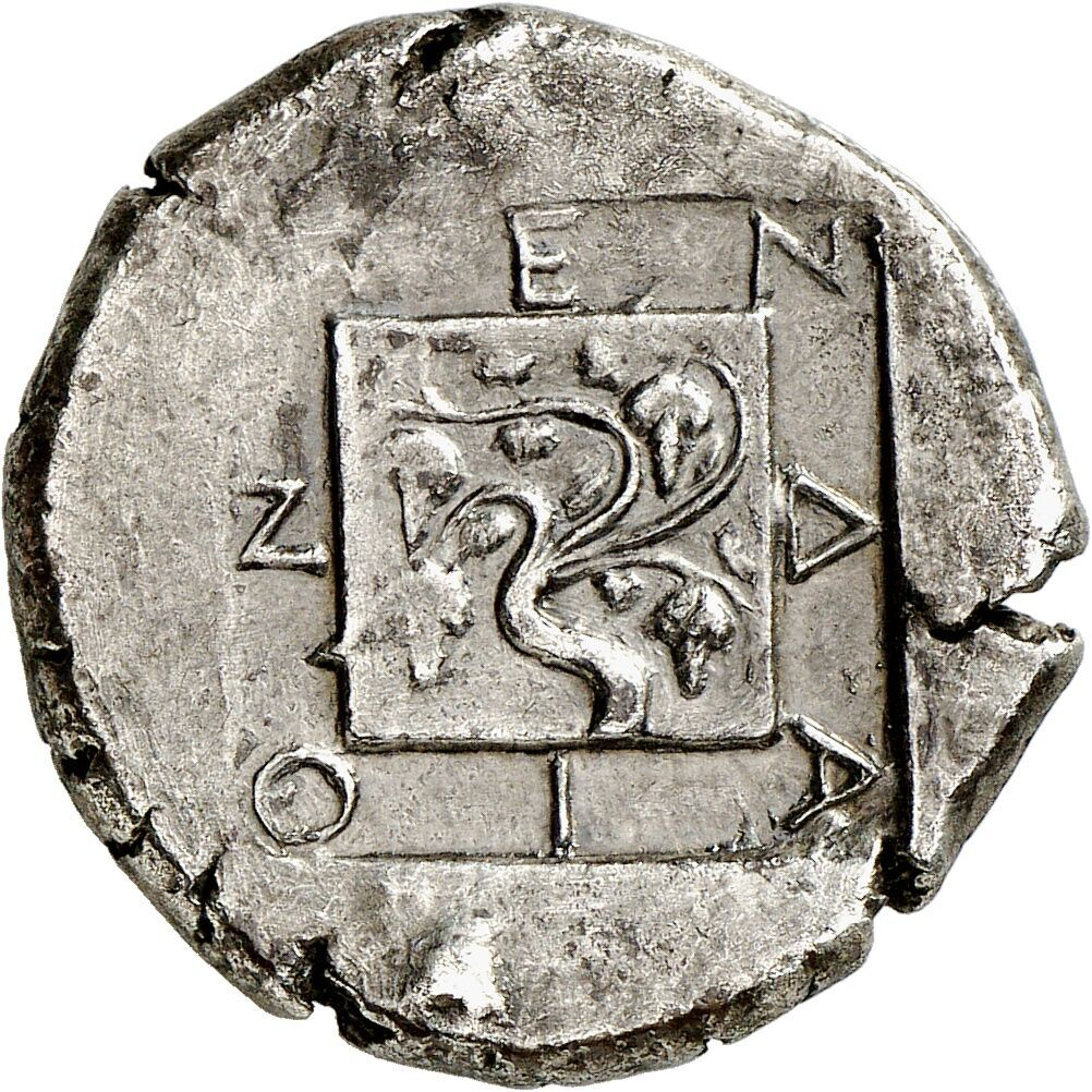 Mende (Macedonia). Tetradrachm, around 423