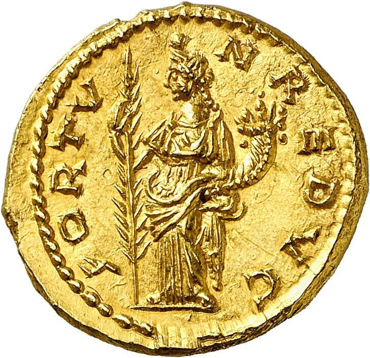 Septimius Severus, 193-211. Aureus, Emesa, 194