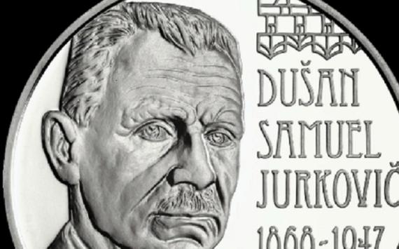10€ argent slovaque 2018  dédiée à l'architecte DUSAN JURKOVIC