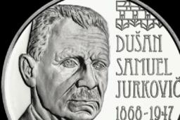 €10 silver coin dedicated to 150th anniversary of Dušan Samuel Jurkovič birth – 2018