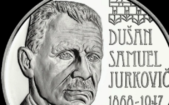 €10 silver coin dedicated to 150th anniversary of Dušan Samuel Jurkovič birth – 2018