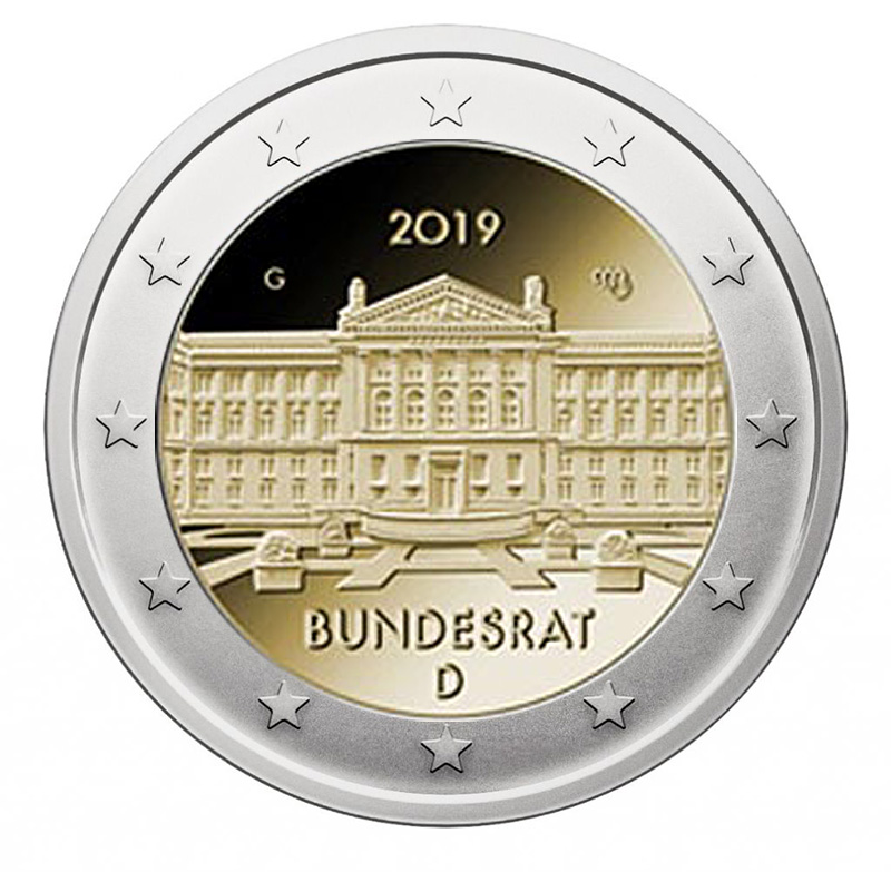 2€ Commemorative coin 2019 - Germany
