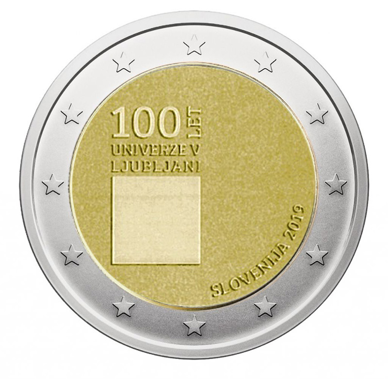 2€ Commemorative coin 2019 - Slovenija