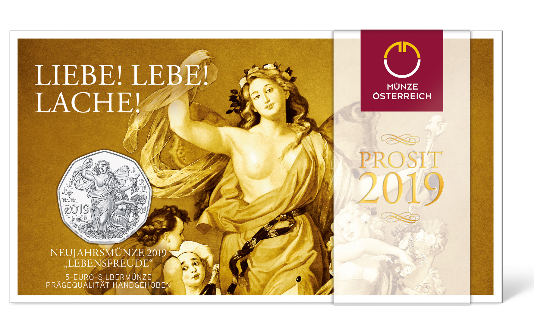 2019 Austrian numismatic program highlights