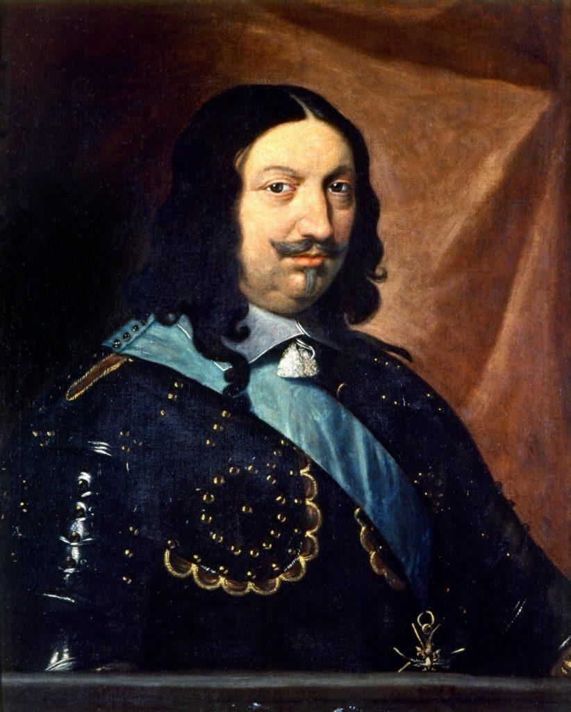"12 Gros ou Fiorino de HONORÉ II : "" HONORATVS II.D.G.PRINC.MONOECI 1640"""