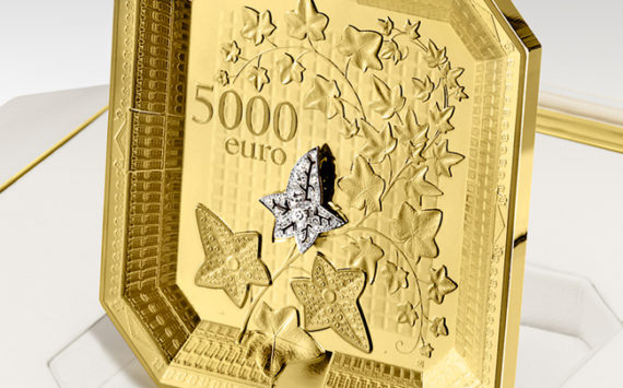 AN EXCEPTIONAL COIN – THE ALLIANCE OF METAL AND HIGH JEWELRY – The Monnaie de Paris with Boucheron