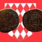 "12 Gros ou Fiorino de HONORÉ II - "" HONORATVS II.D.G.PRINC.MONOECI 1640"