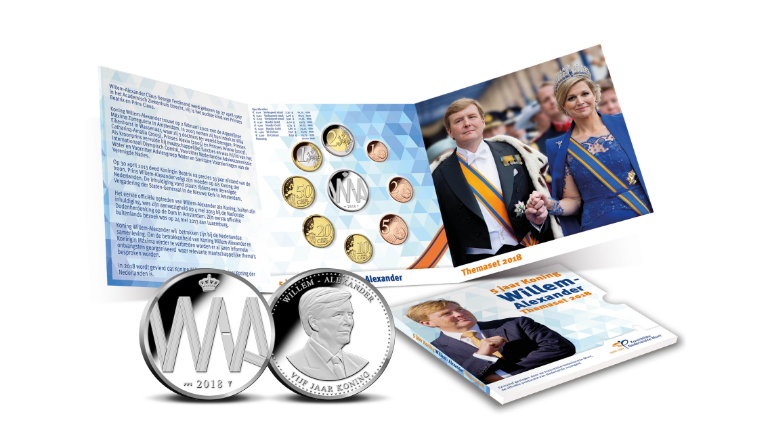 Theme set 2018: 5 years King Willem-Alexander