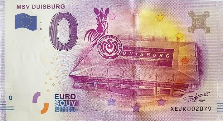 Que valent les billets touristiques ou billets zero euro?