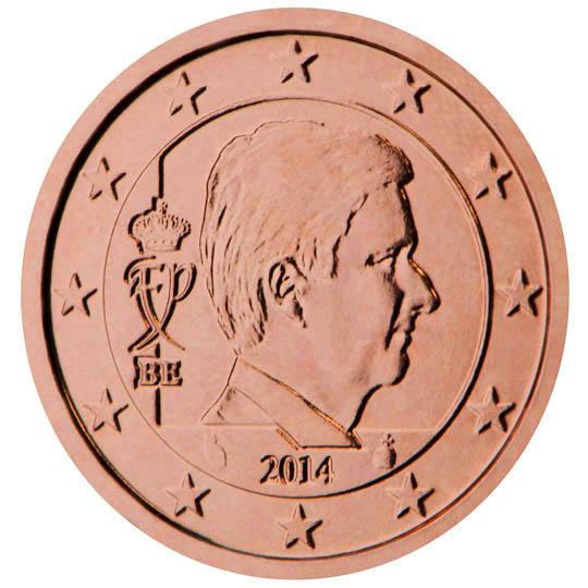 Pénurie de pièces d'un et deux centimes en Belgique et fin de la fabrication - cotation valeur 1 cent & 2 centimes Belgique