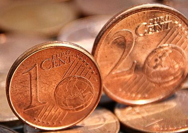 Pénurie de pièces d'un et deux centimes en Belgique et fin de la fabrication – cotation
