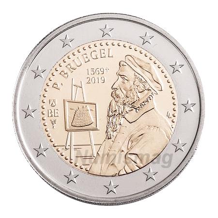 2€ coin 2019 - Belgium Bruegel