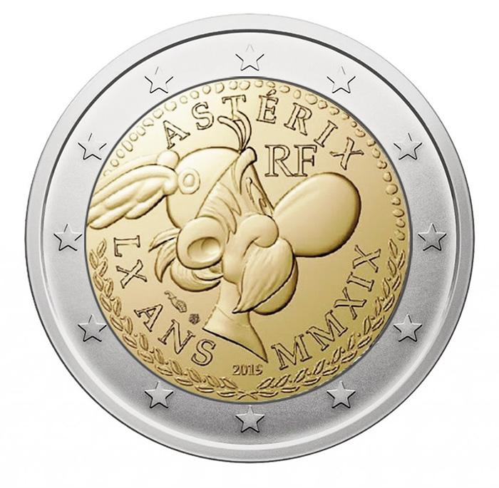 2 euros 2019 Astérix