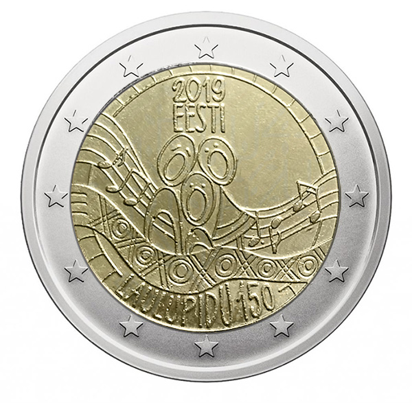 2€ Commemorative coin 2019 - Estonia