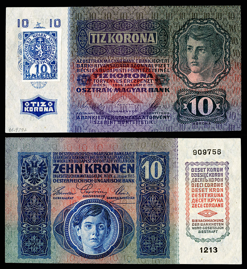2019: 100th anniversary of Czech currency and special numismatic issues