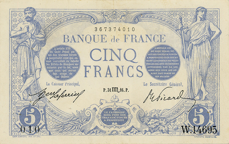 Expo 14-18, la monnaie ou le troisième front