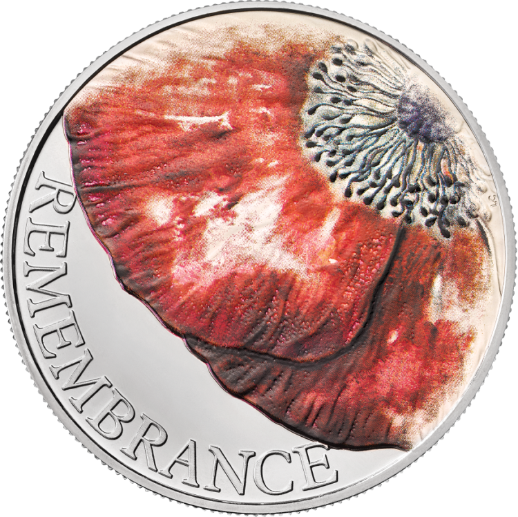 Royal Mint 2018 Rememberance Day commemorative coin