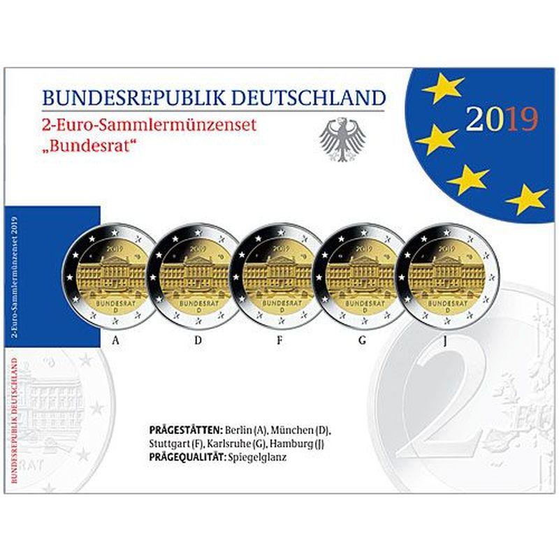 2 euro coin 2019