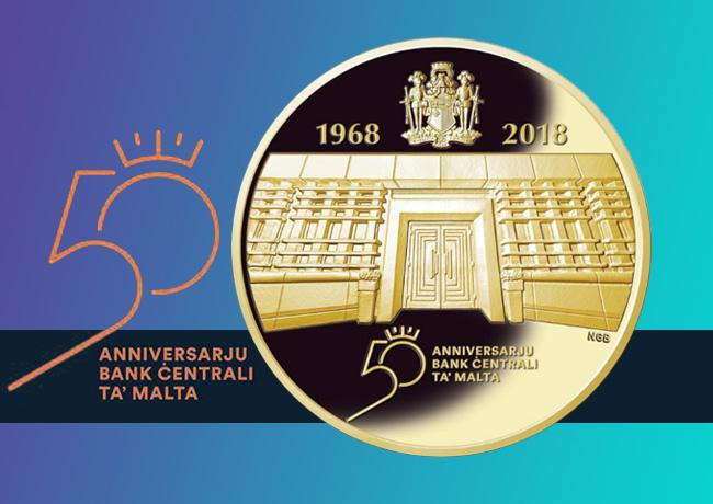 Combien vaut la 100€ or 2018 émise par Malte?